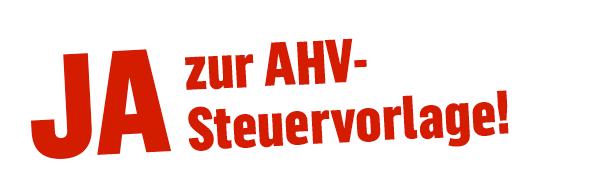 AHV-Steuervorlage JA